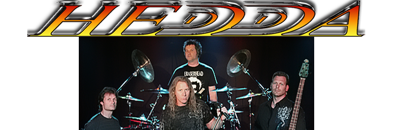 Hedda the band, featuring the progressive power metal music of Jamie Mac, Kent Herman, Jef Jaeger and John Swenson