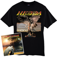 HEDDA Cd and Angel Tee Combo